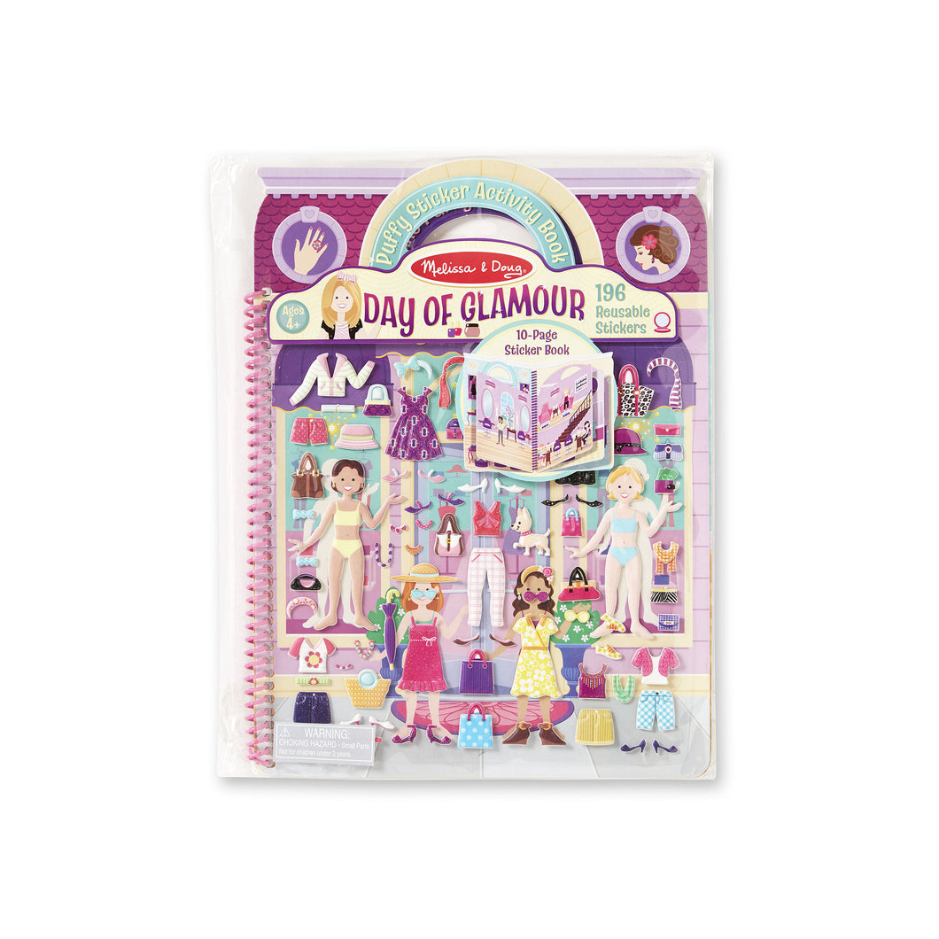 Day of Glamour Sticker Album - Novelty by Melissa & Doug (9412)