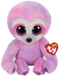 TY Beanie Buddy Dreamy Purple Sloth - Medium