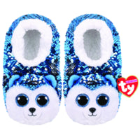 Child Slush TY Fashion Flip Sequin Husky Slippers Size S