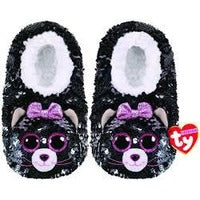 Child Kiki TY Fashion Flip Sequin Cat Slippers Size S