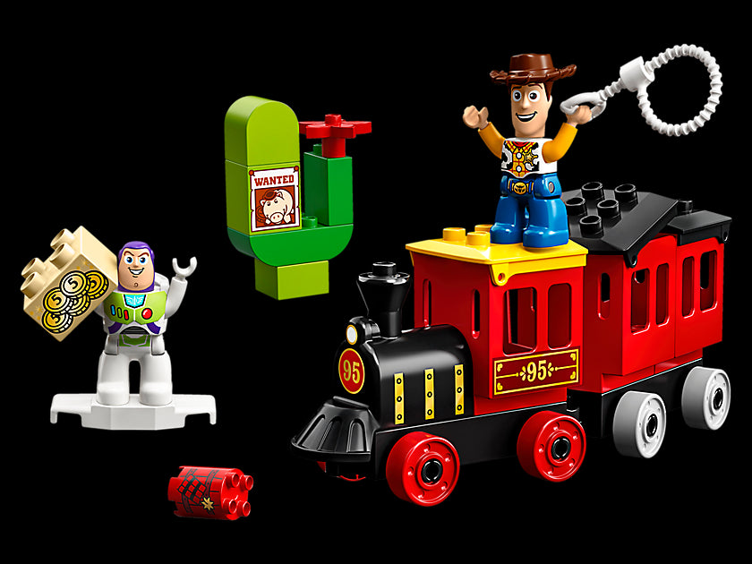 Lego Duplo Disney Pixar Toy Story Train 10894 Building Blocks (21 Piece) Multi