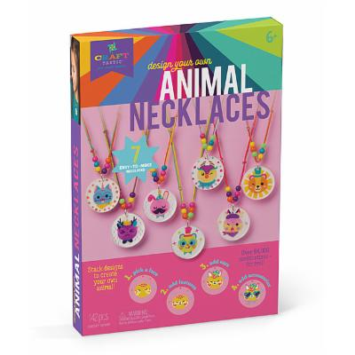 Craft-tastic Craft Kits - Craft-tastic Design Your Own Animal Necklaces Kit