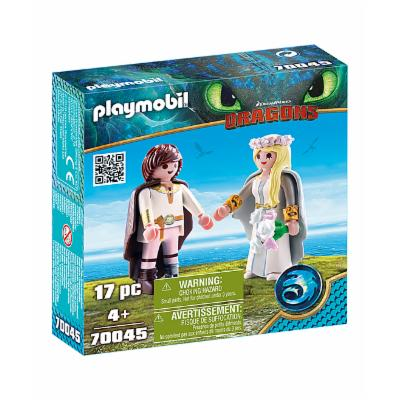 PLAYMOBIL How to Train Your Dragon III Astrid & Hiccup