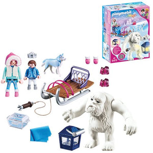 Playmobil Yeti with Sleigh Set