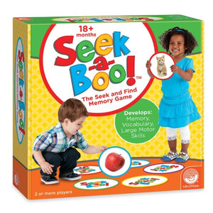 MindWare Seek-a-Boo! Preschool Game