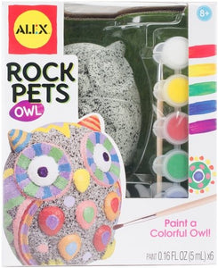 Alex Craft Rock Pets Owl, Craft Activity Kits