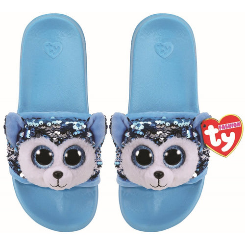 Ty Fashion Slush the Husky Sequin Pool Slides - None