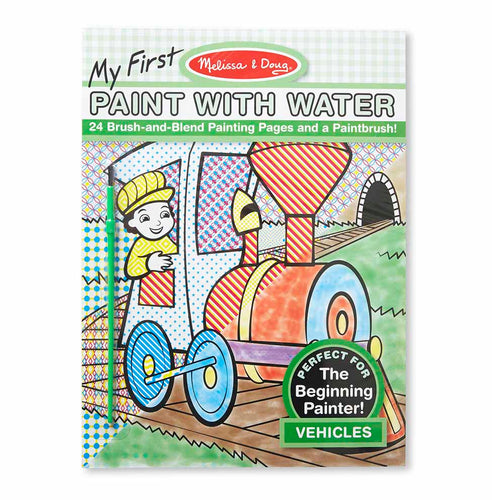 Melissa & Doug My First Paint with Water - Vehicles(40x$3.97)