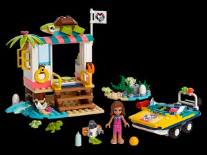 Lego Friends Turtles Rescue Mission 41376 Building Kit