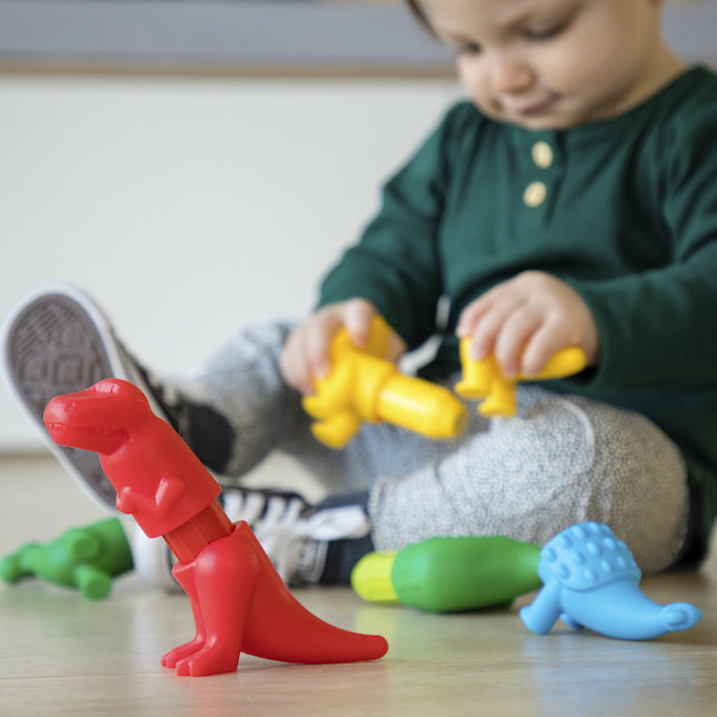 SmartMax My First Dinosaurs for Ages 1-5 Years, 14 Pieces (SMX223)