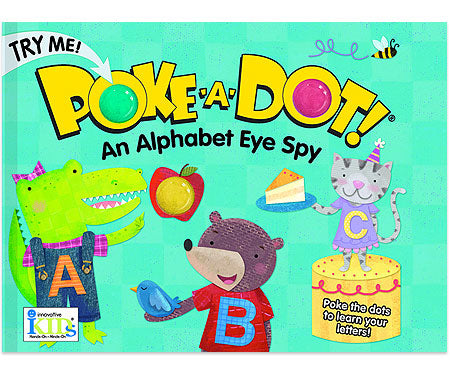 Melissa & Doug Pretend Play Educational Toys, Poke-a-Dot: Alphabet Eye Spy