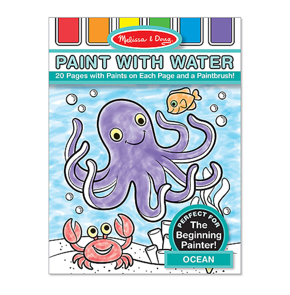 Wholesale Melissa & Doug Paint with Water - Ocean(40x$3.97)