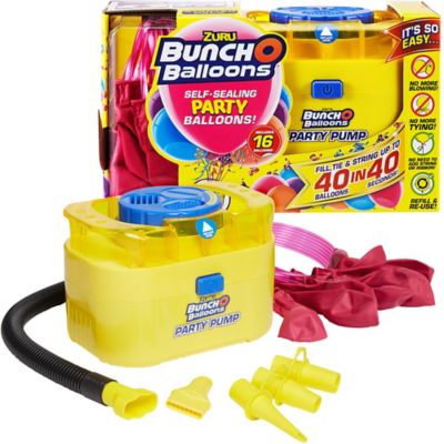 Bunch O Balloons Air Pump with Pink