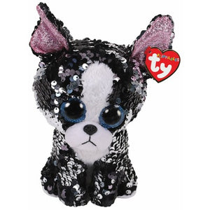 Ty Flippables Portia Sequin Terrier Medium