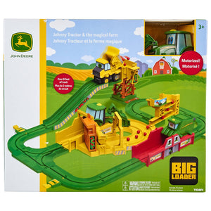 John Deere Johnny Tractor and the Magical Farm, Big Loader Motorized Toy Train Set Multi