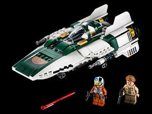 Lego Star Wars The Rise Of Skywalker Resistance A Wing Starfighter 75 Learning Express Toys Of Collegeville