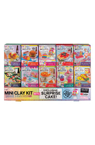 Fashion Angels 10-Pack Mini Clay Kit