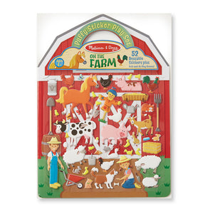 Melissa & Doug on the Farm Puffy Sticker Play Set (Activity Pads, Reusable Puffy Sticker Play Set, 52 Stickers, Great Gift for Girls and Boys -...