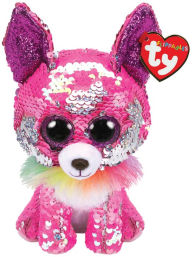 Ty Beanie Boos – Sequin Pink Chihuahua 6 Regular Size