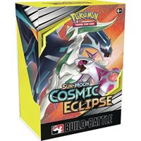 Pokemon TCG Card Game Sun and Moon Cosmic Eclipse Build and Battle Box