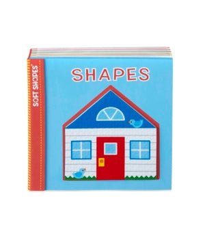 Melissa Doug Children's Book - Soft Shapes: Shapes Foam First Puzzle Book