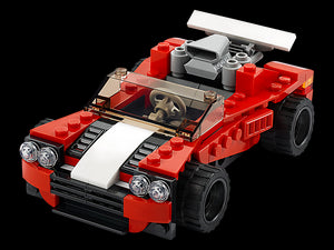 LEGO Creator 3-in-1 Sports Car 31100 Building Kit