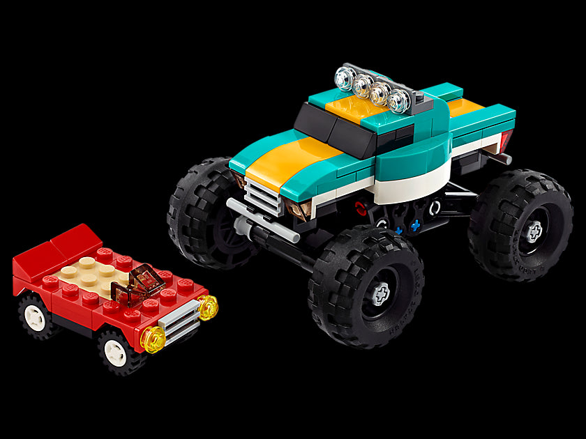 LEGO Creator 3-in-1 Monster Truck 31101 Cool Building Kit