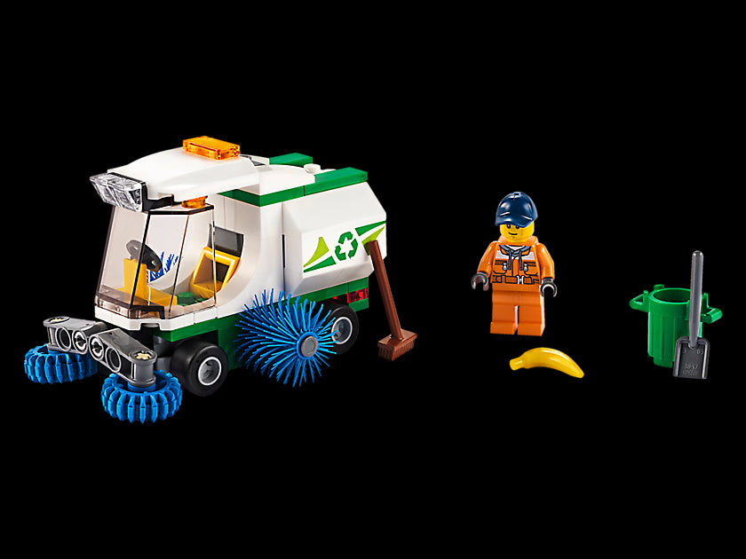 LEGO City Street Sweeper 60249 Cool Construction Building Set