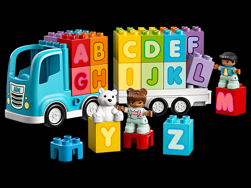 Lego Duplo My First Alphabet Truck 10915 Building Toy (36 Pieces) Multi