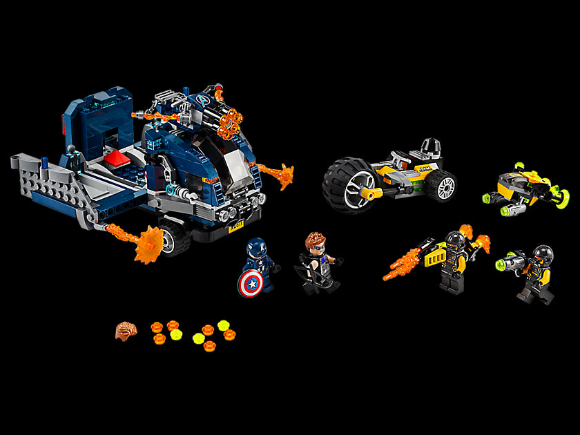 Lego Marvel Avengers Truck Take-Down 76143 Building Kit (477 Pieces) Multi