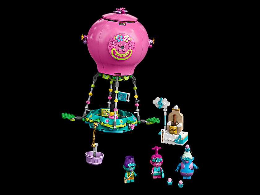 LEGO Trolls World Tour Poppy's Hot Air Balloon Adventure 41252 Building Kit