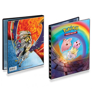 Ultra Pro ULP85936-P 4-Pocket Portfolio with Sun & Moon 12 Release Art Pokeman Wallet