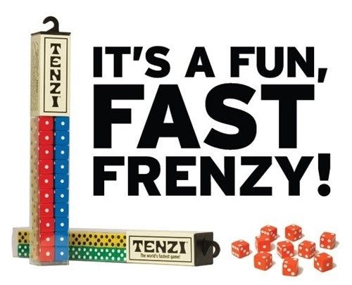 Tenzi Dice Game Plastic Assorted
