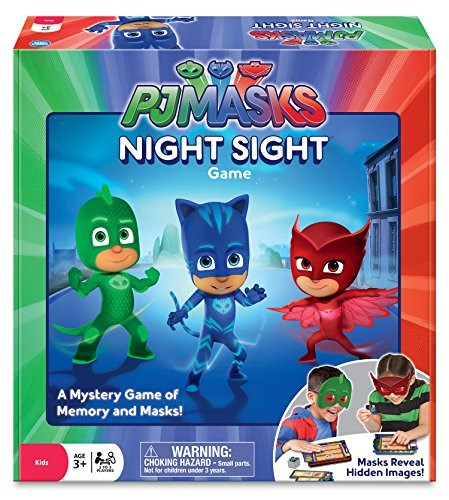 PJ Masks Night Sight Game, Family Board Games