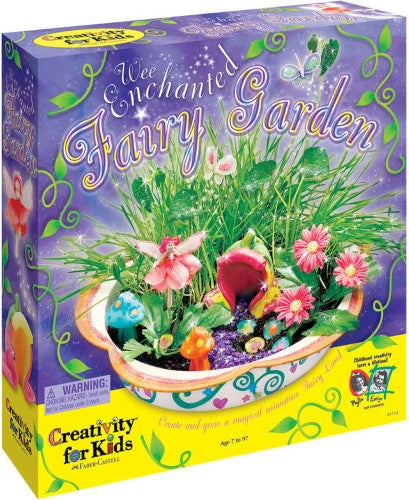 Create Your Own Wee Enchanted Fairy Garden - Creativity for Kids