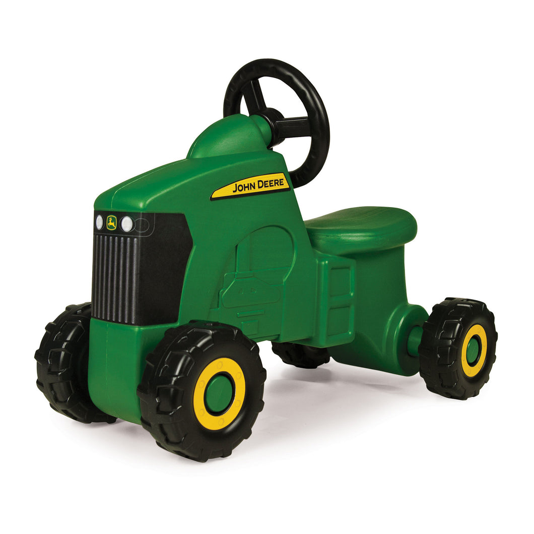 John Deere Sit N Scoot Tractor - Green