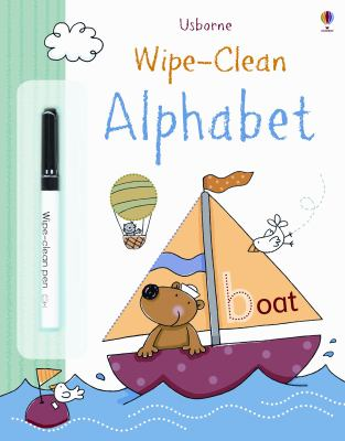 Wipe Clean Alphabet Book