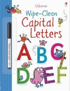 Wipe-Clean Capital Letters (Usborne Wipe-Clean Books)