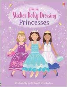 Sticker Dolly Princesses