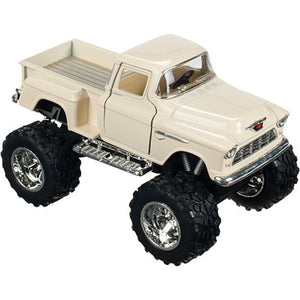 Toysmith 08089 5 in. Assorted Colors 1955 Die-cast Chevy 3100 Monster Pickup, Pack of 12