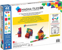 Load image into Gallery viewer, Magna-Tiles DX 48 pc set