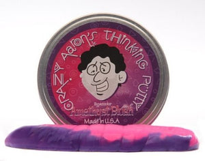 Crazy Aarons Puttyworld AB020 Amethyst Blush Heat Sensitive Hypercolor Thinking Putty - Pack of 6
