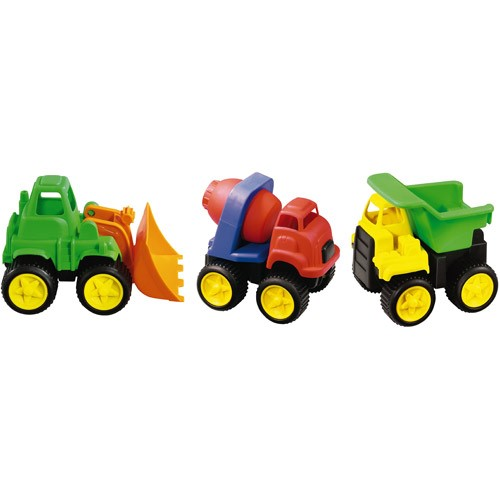 International Playthings Little Tuffies Trucks (3 Pieces) !