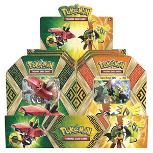 Pokemon TCG: Sun & Moon Guardians Rising Collector's Tin Containing 4 Booster Packs and Featuring a Foil Tapu Koko-GX or Tapu Bulu-GX