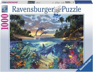 Ravensburger Coral Bay Jigsaw Puzzle (1000 Piece)