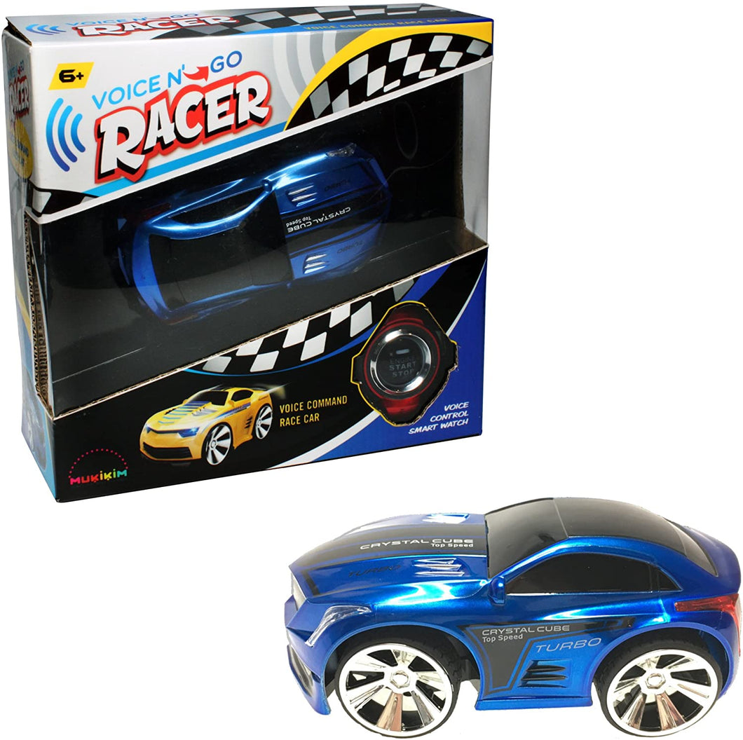 Voice N' Go Racer Xt - Blue. Voice Controlled Race Car