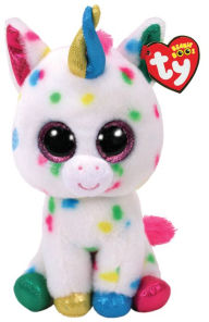 Ty Beanie Boos - Harmonie the 9 Inch Medium Buddy Speckled Unicorn