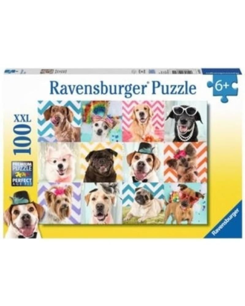 Ravensburger Puzzle Doggy Disguise 100 Pieces