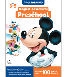 Disney Magical Adventures Workbook - PreK