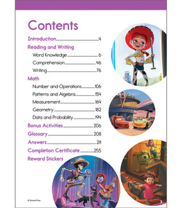 Disney Magical Adventures Workbook - 3rd Grade